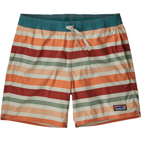 Patagonia Stretch Wavefarer Volley Shorts Herr water ribbons/new adobe
